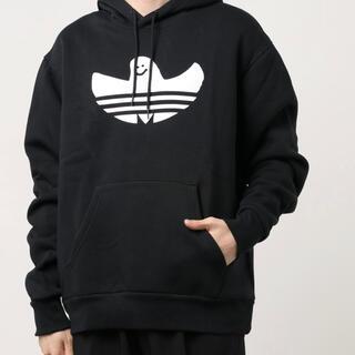 アディダス(adidas)の☆新品☆ adidas スケートボーディング シュムーパーカー XXLサイズ 黒(パーカー)