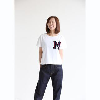 ヨシオクボ(yoshio kubo)のmuller of yoshiokubo ロゴ ワッペン 半袖 Tシャツ(Tシャツ(半袖/袖なし))