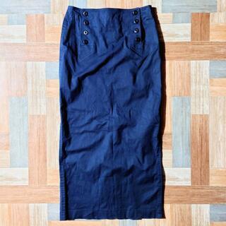 ポロラルフローレン(POLO RALPH LAUREN)の90's POLO SPORT チノ スカート ネイビー(ロングスカート)