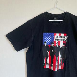 アゲインスト(AGAINST)のagainst アゲインスト Tシャツ Beatles ビートルズ プリント(Tシャツ/カットソー(半袖/袖なし))