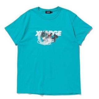 エクストララージ(XLARGE)のヒロアカ XLARGE 20SS S/S TEE DEKU 緑 XLサイズ!(Tシャツ/カットソー(半袖/袖なし))