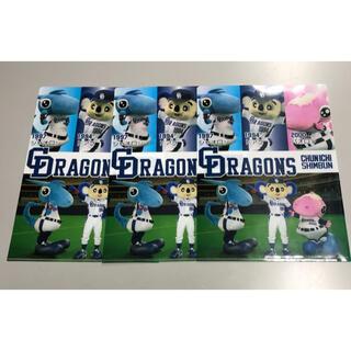 中日ドラゴンズ - ドアラ シャオロン パオロン クリアファイル 3枚セット④