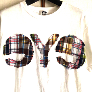 ジュンヤワタナベコムデギャルソン(JUNYA WATANABE COMME des GARCONS)のコムデギャルソン JUNYA WATANABE MAN eYe デカロゴTシャツ(Tシャツ/カットソー(半袖/袖なし))