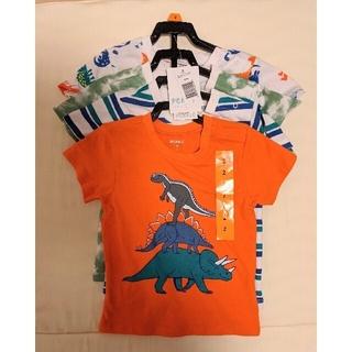 コストコ(コストコ)の新品未使用 コストコ ペックル Tシャツ 4枚セット 85~90cm(Tシャツ/カットソー)