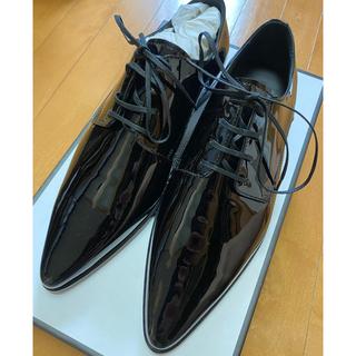 ディースクエアード(DSQUARED2)の秋の大セール DSQUARED2 新品 ブラック 革靴 お洒落 メンズ 高級品(その他)