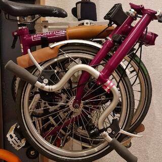 ブロンプトン(BROMPTON)のbrompton M3L 廃盤人気カラーワインレッド(自転車本体)