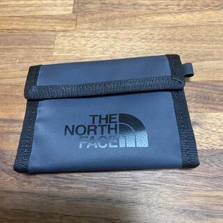 ザノースフェイス(THE NORTH FACE)のTHE ノースフェイス コインケース ブラック 美品(コインケース/小銭入れ)