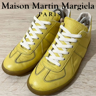マルタンマルジェラ(Maison Martin Margiela)のマルジェラ Martin Margiela REPLICA ジャーマントレーナー(スニーカー)
