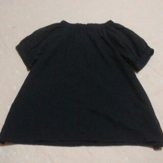 サマンサモスモス(SM2)のSM2黒(シャツ/ブラウス(半袖/袖なし))