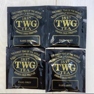 ルピシア(LUPICIA)のTWG  大人気高級紅茶 アールグレイ 4包セット #ブラックティー (茶)