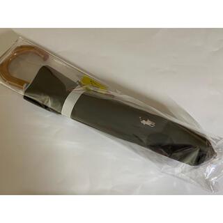 ポロラルフローレン(POLO RALPH LAUREN)の新品ポロラルフローレン 日焼け対策 1級遮光 晴雨兼用楽折スタイル 日傘ブラック(傘)