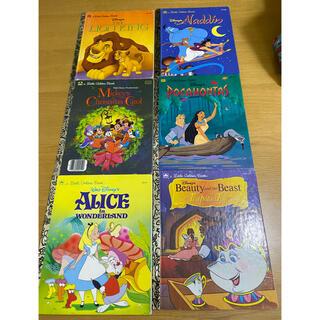 Disney - 子供用 ディズニー 英語絵本 a Little Golden Book  6冊