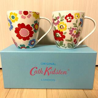 キャスキッドソン(Cath Kidston)のペアマグカップ(グラス/カップ)