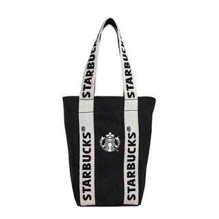 スターバックスコーヒー(Starbucks Coffee)の台湾 スターバックス タンブラー バッグ ドリンクバッグ サイレン ロゴ(トートバッグ)