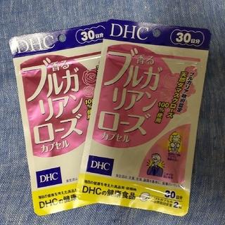 ディーエイチシー(DHC)のDHC❣️ブルガリアンローズ 30日分×2袋 (口臭防止/エチケット用品)