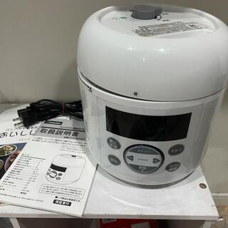 アイリスオーヤマ(アイリスオーヤマ)のmaxzen  電気圧力鍋(鍋/フライパン)