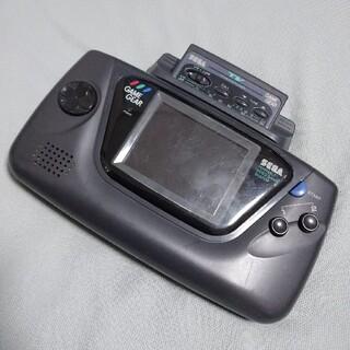セガ(SEGA)のゲームギア 本体+オートチューナー(携帯用ゲーム機本体)