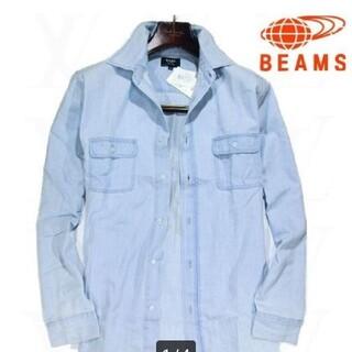 ビームス(BEAMS)のBEAMS ミッキー 長袖シャツ 新品 タグ付 Mサイズ(Tシャツ(長袖/七分))