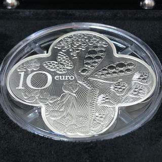 Van Cleef & Arpels 110周年記念 10ユーロ銀貨