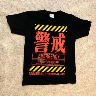 エヴァンゲリオン 警戒Tシャツ USJ(Tシャツ/カットソー(半袖/袖なし))