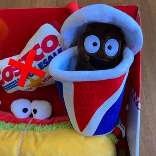 コストコ(コストコ)のBARK ドッグトイ 犬用 おもちゃ 服 Mサイズ(犬)