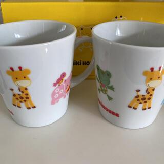 ミキハウス(mikihouse)のMIKIHOUSE ペアマグカップ(マグカップ)