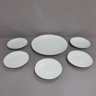 ハナエモリ(HANAE MORI)のハナエモリ 食器新品同様  - 白 陶器(その他)