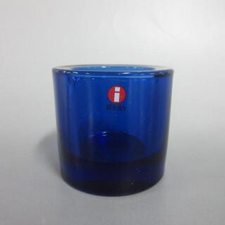 マリメッコ(marimekko)のマリメッコ 小物美品  ブルー ガラス(その他)