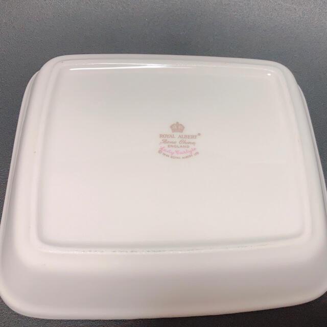 ROYAL ALBERT(ロイヤルアルバート)のロイヤルアルバート 角皿 インテリア/住まい/日用品のキッチン/食器(食器)の商品写真