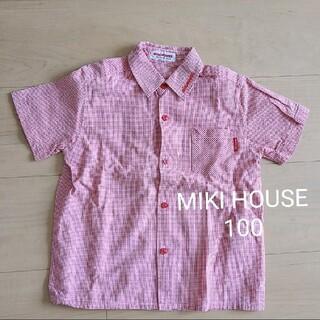 ミキハウス(mikihouse)のミキハウス シャツ 100 女の子(ブラウス)