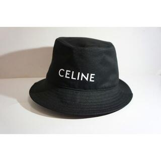 セリーヌ(celine)の20AW CELINE セリーヌ ロゴ バケット ハット 伊勢丹購入822L▲(ハット)