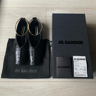 Jil Sander - 【限定SALE】美品【希少サイズ37】JILSANDER バレエシューズ