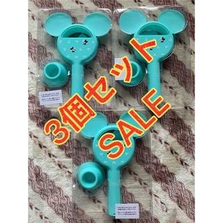 ミッキーマウス(ミッキーマウス)のInRed ミッキーマウスデザイン手持ちも卓上もOK羽根のない扇風機3個セット(扇風機)