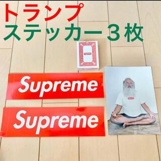 シュプリーム(Supreme)のSupreme トランプ Rick Rubin Tee ステッカー ボックスロゴ(その他)
