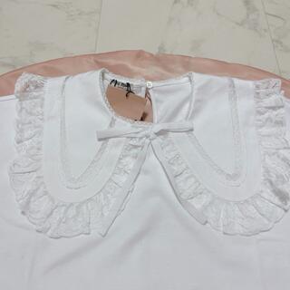 ミュウミュウ(miumiu)のmiumiu♡襟 tシャツ(Tシャツ(半袖/袖なし))