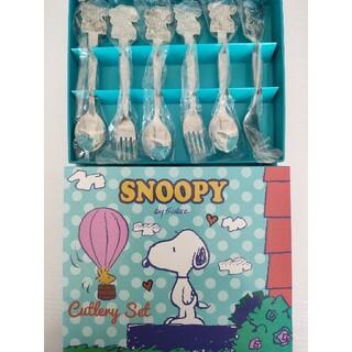 スヌーピー(SNOOPY)のSNOOPY カトラリーセット 2箱(カトラリー/箸)