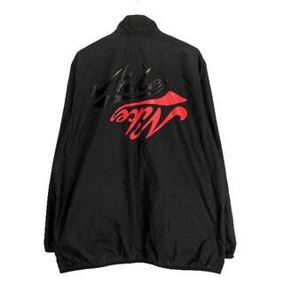 ヨウジヤマモト(Yohji Yamamoto)のナイキ×ブラックコムデギャルソン■バックロゴナイロンジャケット(ナイロンジャケット)