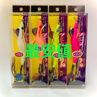 ドラゴン(DRAGON)の最安値 激安 タコエギ マルシン漁具 ダンシング八ちゃん シンカー付 4個セット(ルアー用品)
