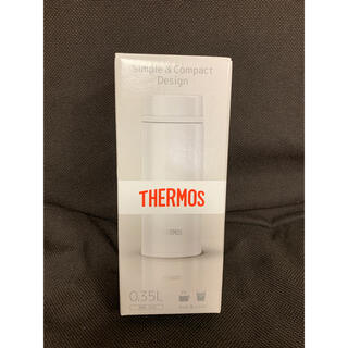サーモス(THERMOS)のサーモス 真空断熱ケータイマグ 0.35L JNW-350 パールホワイト(水筒)