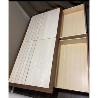 ムジルシリョウヒン(MUJI (無印良品))の無印良品 収納ベッド シングル(シングルベッド)