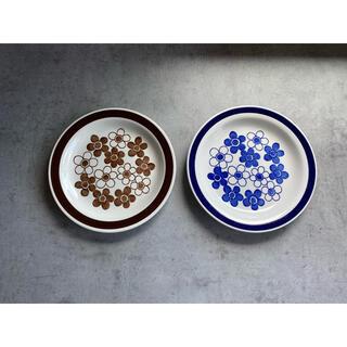 ロールストランド(Rorstrand)のアネモン anemon ロールストランド 18センチ デザートプレート(食器)