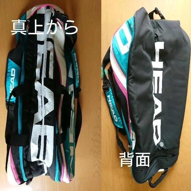 HEAD(ヘッド)の【新品未使用】HEAD テニスラケットバッグ スポーツ/アウトドアのテニス(バッグ)の商品写真