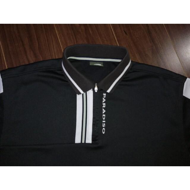 Paradiso(パラディーゾ)のPARADISE/パラディーゾ/ポロシャツ/GOLF/ゴルフ/ウェア/ スポーツ/アウトドアのゴルフ(ウエア)の商品写真