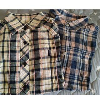 イーストボーイ(EASTBOY)のEASTBOY チェックシャツセット(シャツ/ブラウス(半袖/袖なし))