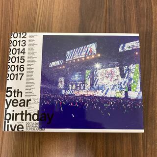 乃木坂46 - 乃木坂46/5th YEAR BIRTHDAY LIVE ブルーレイ