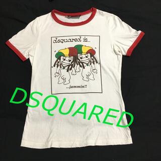 ディースクエアード(DSQUARED2)のDSQUARED2 半袖Tシャツ ラスタカラー L(Tシャツ(半袖/袖なし))
