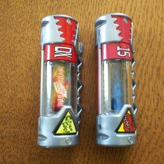 バンダイ(BANDAI)の獣電戦隊キョウリュウジャー 獣電池レア DX & アロメラスエンプティモデル(特撮)