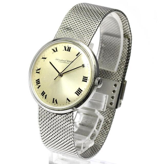 IWC(インターナショナルウォッチカンパニー)のIWC アンティーク Cal.602  手巻き メンズ 【中古】 メンズの時計(腕時計(アナログ))の商品写真