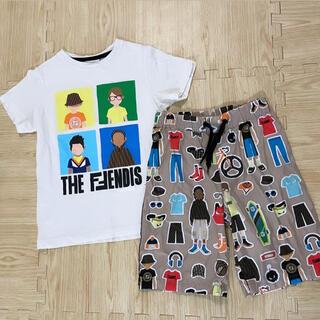 フェンディ(FENDI)のFENDIセットアップ140cm(Tシャツ/カットソー)