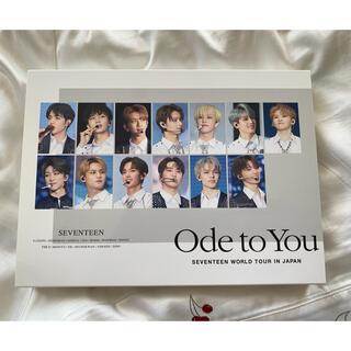 セブンティーン(SEVENTEEN)のSEVENTEEN worldtour Ode to you / Blu-ray(K-POP/アジア)